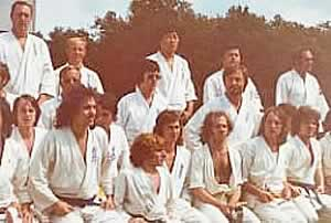 kampfkunstschule eisheuer - Joachim-Dieter Eisheuer in der 'International Kyokushinkai Summerschool' im National Sportcenter Papendal, Holland